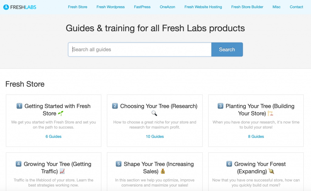 Check out our Fresh Guides Website!