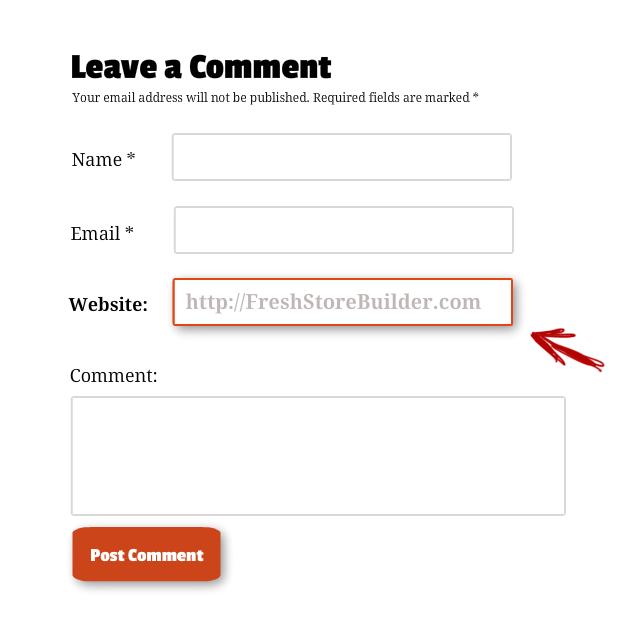 blog comment form FSB